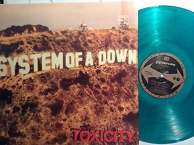 System Of A Down-Toxicity Lp Green Vinyl