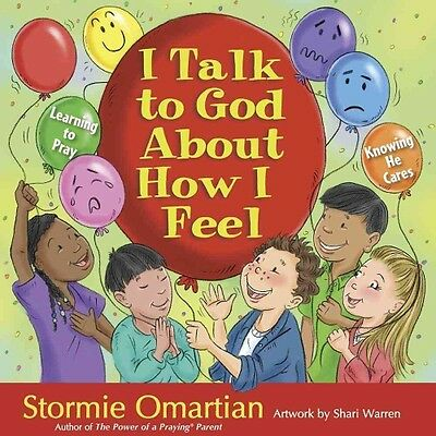 I Talk to God about How I Feel by Stormie Omartian Hardcover Book (English)