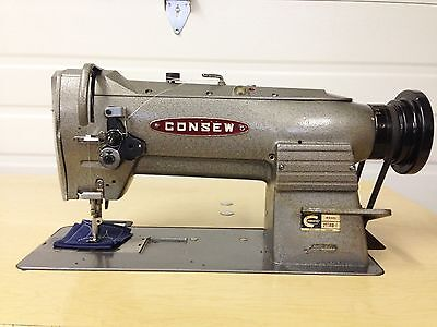 Consew 255-Rb1 Walking Foot  W/ Larger Table  110V Industrial Sewing Machine