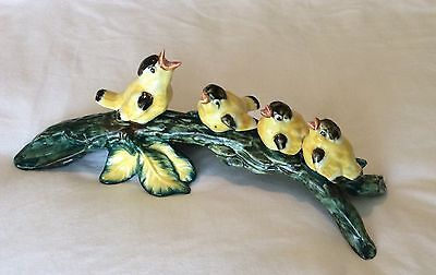 Stangl Birds Stangl Art Pottery Goldfinch Birds Style 3635, Excellent Condition