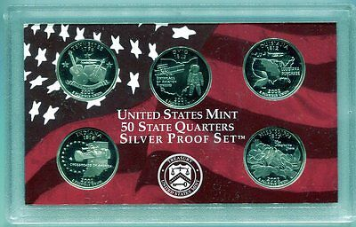 2002 Silver State Quarter Proof Set - Free Shipping