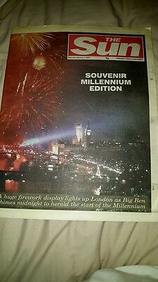 The Sun Newspaper 01 January 2000 Millenium Edition