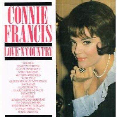 """CONNIE FRANCIS Love N Country 12"""" VINYL UK Pickwick 16 Track (Cn2081) Sticker"""