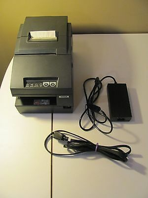 Epson TM-H6000III M147G Point of Sale Direct Thermal Receipt Printer W/Adapter