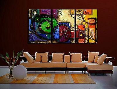 New!Modern Abstract Canvas Oil Painting-Large art(No Framed)