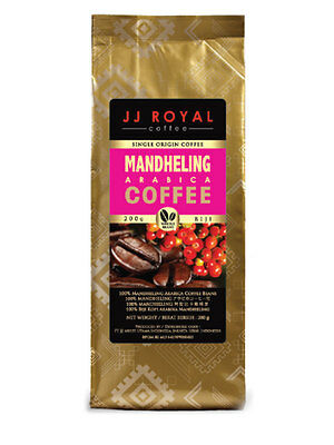 Coffee Home & Garden 200gr Jj Royal Sumatera Mandheling Arabica Coffee Ground Tin Roasted Authentic