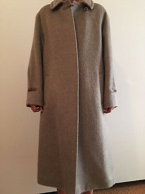Ladies Cawl Vintage Genuine Llama Wool Full Length Coat Excellent Condition