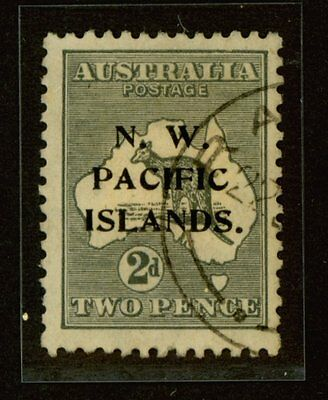 North West Pacific Islands, 1919 2d, Sc. #29 var., Die II, SG #106a, Used Fine