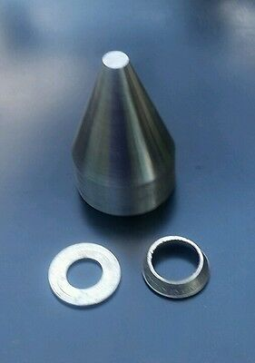 20° Folding Cone To Begin The Process Of Folding A Coin Into A  Ring