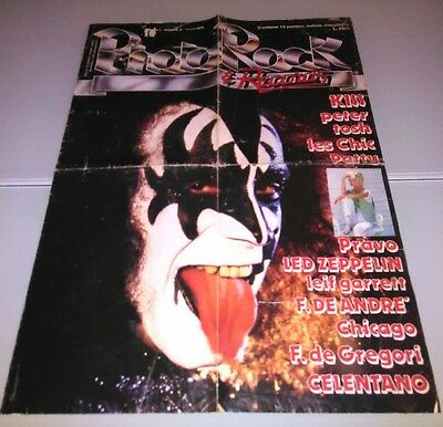 Kiss Italian Poster Phantoms 1979 Very Rare