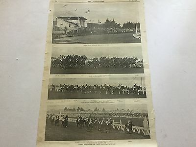 """1900. V.a.t.c. Caulfield Cup Day --  Winner   """"ingliston"""". 2 Single Pages"""