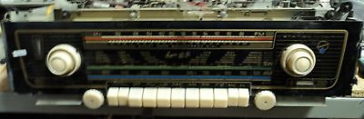 """Blaupunkt """"Arkansas"""" Tube Radio Chassis complete w/schematics and tubes"""