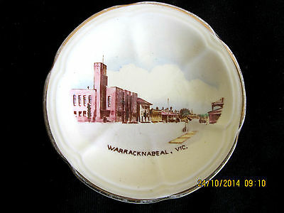 ~Crown Devon Vintage Souvenir Ware Small Dish - Warracknabeal, Vic - Vgc~
