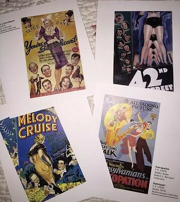 Musical 7 Movie Poster Book Plate 42nd Street Melody Cruise Syncopation + no dup