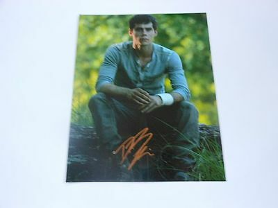 Dylan O'Brien SIGNED Teen Wolf AUTOGRAPHED 8x10 Photo