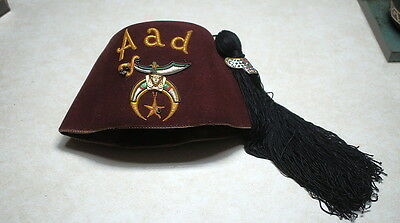 1940's Shriner,Masonic,Fez Hat,Aad,Minnesota