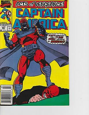 Captain America #367 Magneto vs Red Skull! FREE SHIPPING AVAILABLE!