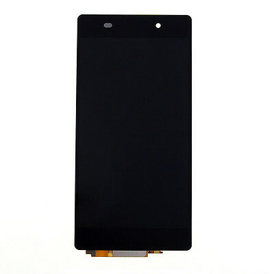 Full LCD Screen Touch Digitizer Assembly For Sony Xperia Z2 D6502 D6503 Black