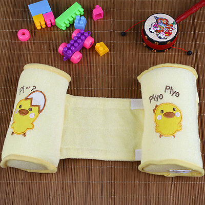 Baby Safe Cotton Sleep Head Positioner Anti-rollover Anti Roll Support Pillow