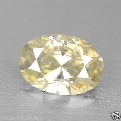0.71 Cts UNTREATED GREENISH YELLOW COLOR NATURAL LOOSE DIAMONDS- SI1