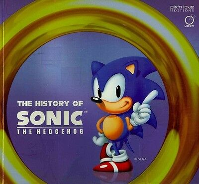 The History of Sonic the Hedgehog by Marc Petronille Paperback Book (English)