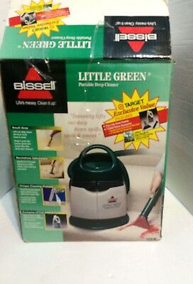 Bissell 1720-M Little Green Portable Deep Cleaner Upholstery Carpet Cleaner
