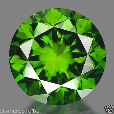 0.53 Cts EXCELLENT TRANSPARENT GREEN COLOR NATURAL LOOSE DIAMONDS- VS2