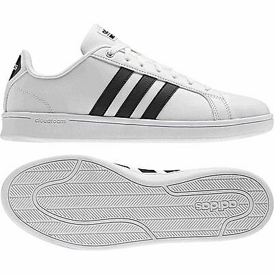 separation shoes b3e97 123cc SCARPE ADIDAS CLOUDFOAM ADVANTAGE ispirata Superstar bianco - nero uomo  AW4294