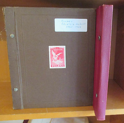 POLAND - FINE COLLECTION 1962/1976 LARGELY COMPLETE IN 2 x VOLUMES - VFU