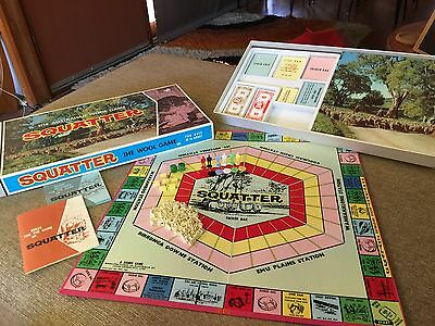Vintage John Sands Squatter 'The Australian Wool Game' Excellent Condition