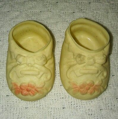 """Pair of Vintage Soft Rubber Shoes for 11"""" Tiny Tears Doll"""