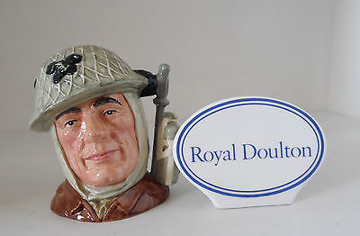 Royal Doulton Character/toby Jug The Soldier D6876 1St Issue