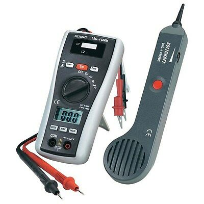 Voltcraft LSG-4 Multimeter and Cable Tester