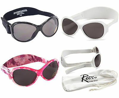 BabyBanz KIDZ BANZ RETRO SUNGLASSES Toddler/Child 2-5 Years Sun Protection BN