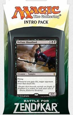 Magic The Gathering Intro Pack - Battle for Zendikar CALL OF BLOOD