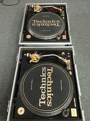 TECHNICS SL-1200 GLD Limited Edition Gold Turntables