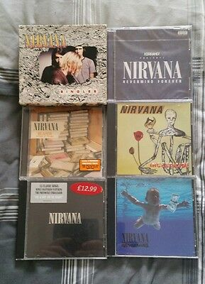 nirvana cds bundle joblot