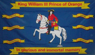 Ulster Flag King William 3Rd Prince Prince Of Orange