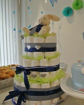 Nappy Cakes Personalised Baby Girl Boy Hampers
