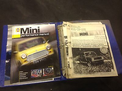 Mini Minor Mr Bean Car And Pitmans All In One Book Of The Mini Workshop manual