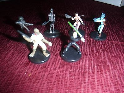 Star Wars miniatures rares/ ultra rares from Rebel Storm, free shipping