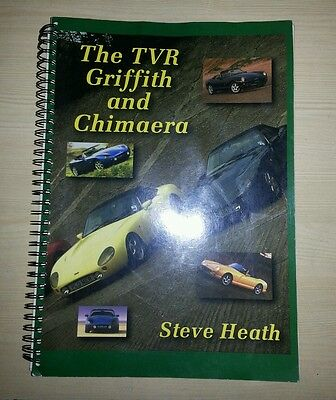 TVR Griffith and Chimaera Bible Workshop Manual Steve Heath VGC 4.0 4.3 5.0 500
