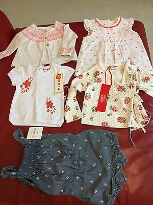 Baby Girls Clothes Including Pure Baby - 3 to 6 Months
