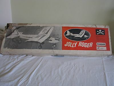 Remote Control Rc Plane Kit Standard 'the Jolly Roger' Vintage