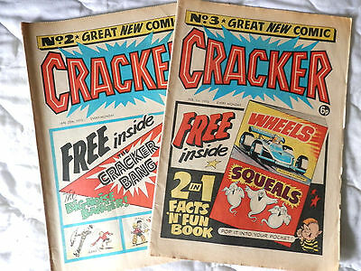 CRACKER 2 issues Nos 2 and 3 (1975)
