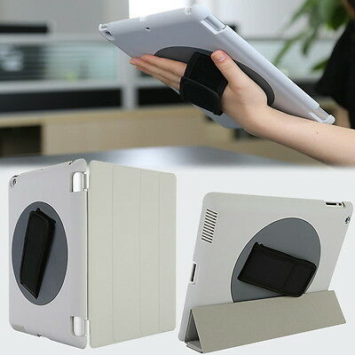 Leather 360° Degree Rotating Smart Stand Case Cover for iPad Apple 2 3 4 Gery