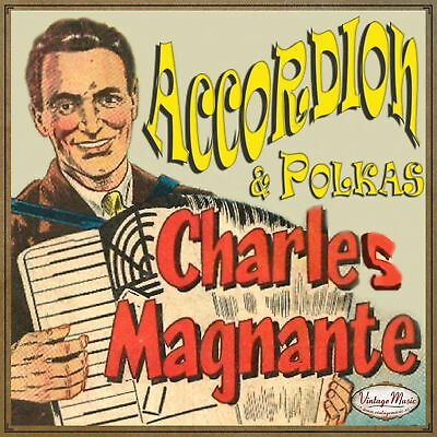 CHARLES MAGNANTE CD Vintage Music // 40s 50s 60s Oldies Accordion French Music