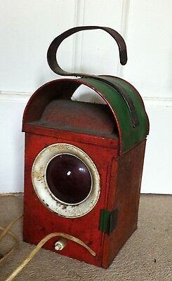 Vintage/retro Road/railway Clifplant Lantern Light Lamp