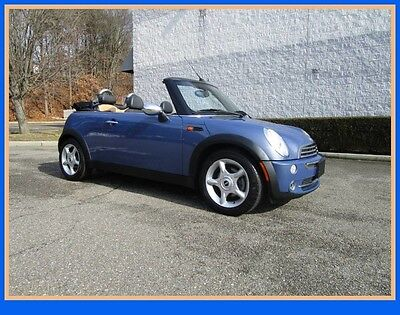 2005 Mini Cooper Base Convertible 2-Door 05 Mini Cooper Convertible Clean Fax One owner Just 8k Miles Like New