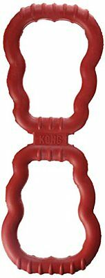 Kong Tug Dog Toy, Red Pet Interactive Made In The Usa New UK SELLER